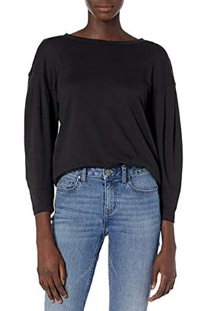 Daily Ritual Pima Cotton and Modal Interlock Balloon-Sleeve Top Camisa