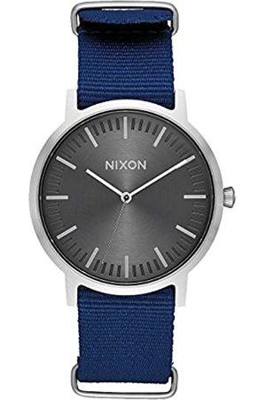 Nixon Reloj Analógico para Hombre de Cuarzo con Correa en Nailon A1059-1893-00