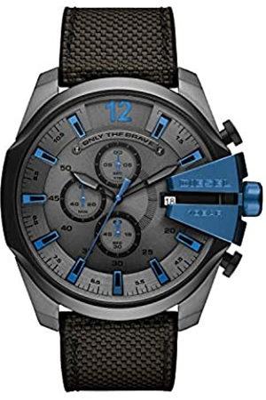 Diesel Reloj Cronógrafo para Hombre de Cuarzo con Correa en Nailon DZ4500