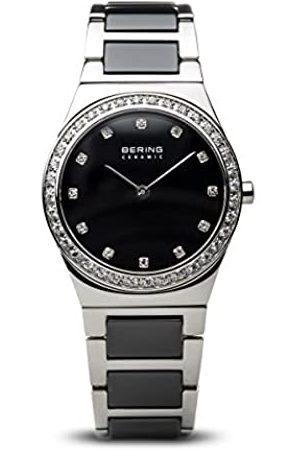 Bering Reloj Analógico para Mujer de Cuarzo con Correa en Acero Inoxidable 32430-742