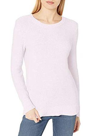 Daily Ritual Suéter de algodón, Lana Suave, Cuello Redondo, Beachy Sweaters