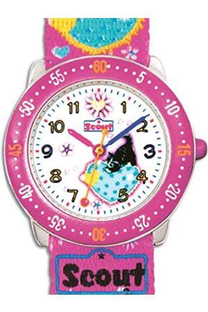Scout 280378026 - Reloj analógico infantil de cuarzo con correa textil