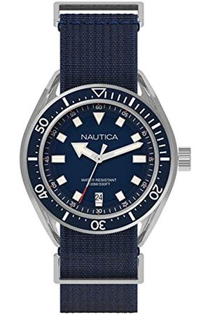Nautica RelojAnalógicoparaHombredeCuarzoconCorreaenNailonNAPPRF001