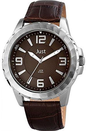 Just Watches 48-S9312-BR - Reloj de Pulsera Hombre, Piel