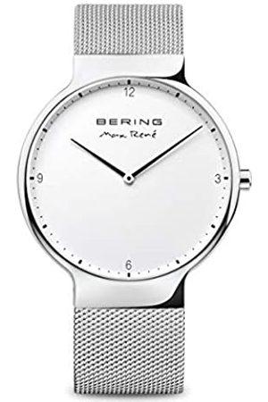 Bering Reloj Analógico para Unisex Adultos de Cuarzo con Correa en Acero Inoxidable 15540-004