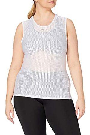 Craft Cool Mesh Camiseta Interior, Mujer, White