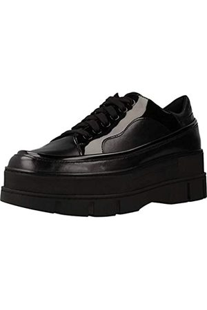 Geox D ROOSE C, Zapatillas Mujer, (Black C9999)