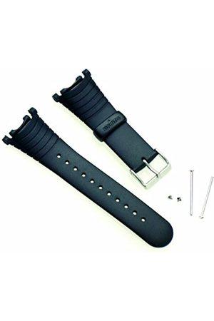 Suunto Strap R Correa para Relojes, Armband Vector Black elastomer (SS004768000)
