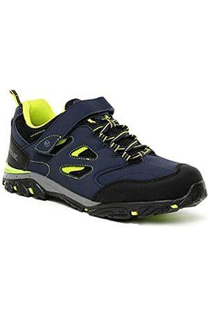 Regatta Chaussures Techniques De Marche Junior Basses Holcombe V, Zapato para Caminar, Ponche Marino/Lima