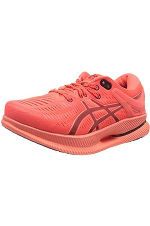 Asics Metaride, Road Running Shoe Hombre, Sunrise Red/Midnight