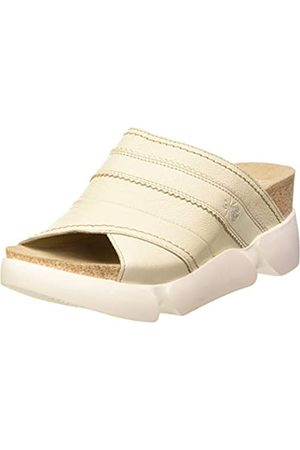 Fly London Suze582fly, Mules Mujer, Marfil (Offwhite 007)