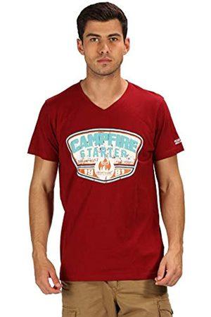 Regatta Camiseta Calton Coolweave con Cuello en V para Hombre, Hombre, Camiseta, RMT193