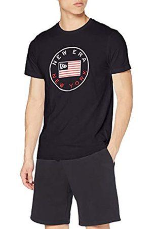 New Era Ne Established Flag tee Camiseta de Manga Corta, Hombre