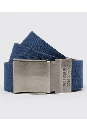 Superdry Hombre Cinturones - Cinturón de lona reversible