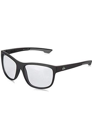 Quiksilver Crusader Adapt Gafas De Sol, Hombre, Black/Grey/Grey-Combo