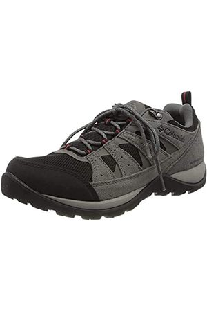 Columbia Redmond V2, Zapatos de Senderismo Impermeables Hombre, (Black, Rocket)