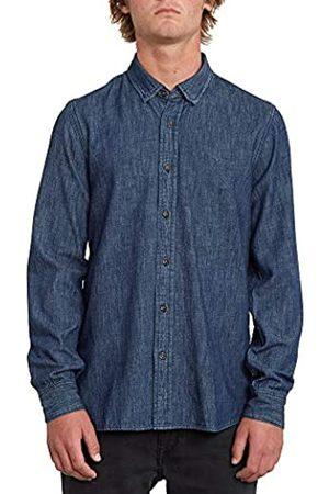 Volcom Bayond L/S Camisa, Hombre