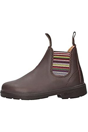 Blundstone Classic, Botines Infantil, (Brown/Stripped)