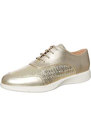 Geox D ARJOLA C, Zapatos de Cordones Oxford Mujer, (Gold C2005)