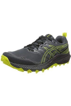 Asics Gel-Trabuco 9, Trail Running Shoe Hombre, Carrier Grey/Sour Yuzu