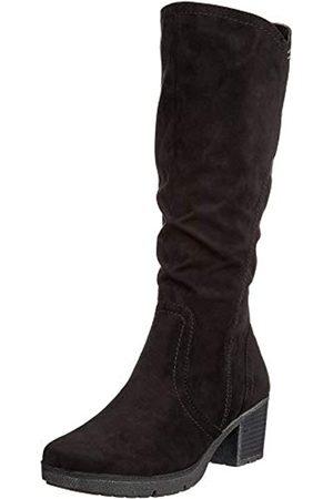 Soft Line Mujer Botas altas - 25662-21, Botas Altas Mujer, (Black 001)