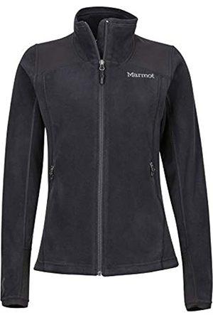 Marmot Wm's Flashpoint Jacket Chaqueta Polar, Chaqueta Outdoor, Transpirable, Resistente Al Viento, Mujer, Black