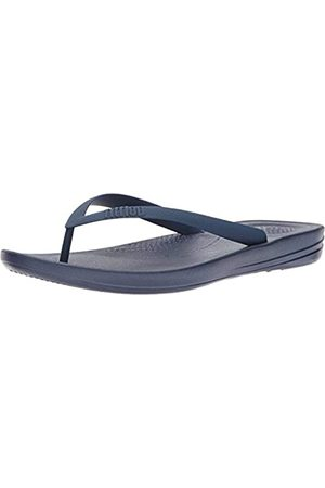 FitFlop Iqushion Ergonomic Flip Flops, Sneaker Mujer, Blue (Midnight Navy 399)
