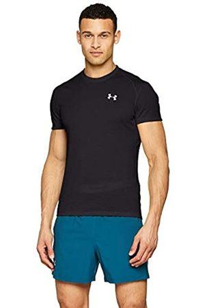 Under Armour UA Streaker 2.0 Camiseta, Hombre, (Black/Black/Reflective (001)