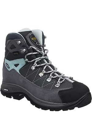 Asolo Finder GV Ml, Zapatos de High Rise Senderismo Mujer, (Grigio/Gunmetal/Bleu Pool A177)