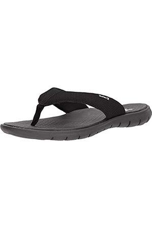 Nike M Hrly Flex 2.0 Sandal, Zapatillas Hombre, (Black/White/Dark Grey 001)