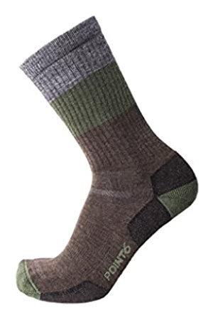 Desconocido Unknown - Calcetines de Senderismo para Hombre, diseño de Rayas, Hombre, Calcetines, POIN-112561320M