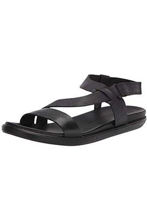Ecco Simpil Sandal, Plana Mujer