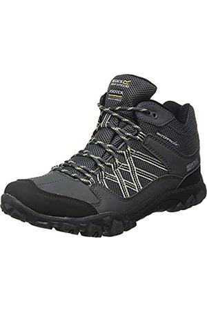 Regatta Edgepoint Waterproof Hiking Boot, Zapatillas de Senderismo Hombre, (Briar/Lime Punch 824)