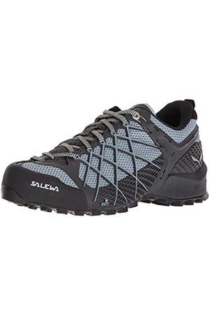 Salewa WS Wildfire, Zapatos de Senderismo Mujer, (Magnet/Blue Fog)