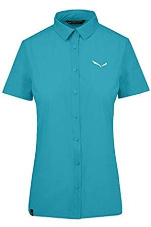 Salewa Mujer Camisas - Puez Minicheck2 Dry W L/S Camisa, Mujer