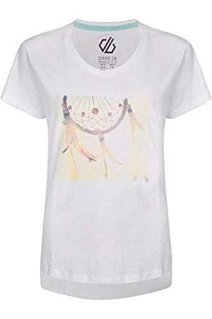 Dare 2B Tee T- Camiseta Lifestyle para Mujer 100% algodón, Mujer, DWT458 90016L
