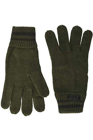 Regatta Balton II Acrylic Knit Striped Wrist Gloves Guantes, Hombre