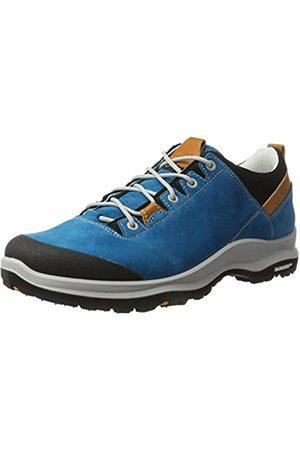 Aku LA Val Low GTX, Zapatillas de Senderismo Hombre, Turquesa (Turquoise/Orange 454)