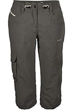D&X G.I.G.A. DX Capri fenia para Mujer Cargo 3/4 de Verano Bermuda pantalón Corto con Bolsillos-Cintura Ajustable