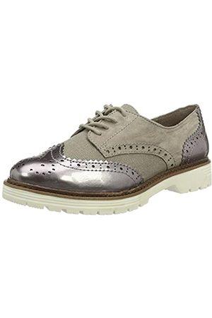 Soft Line 23763, Zapatos de Vestir Mujer, (Lt Taupe Comb. 348)