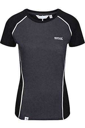 Regatta Tornell II Camiseta transpirante, Merino TechWool, Mangas Cortas T-Shirts/Polos/Vests, Mujer