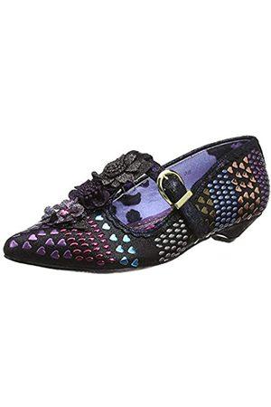 Irregular Choice Love Scale, Zapatos con Tacon y Tira Vertical para Mujer