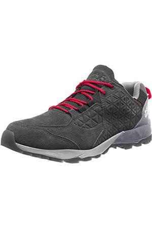 Jack Wolfskin Cascade Hike Lt Texapore M, Zapatos de Low Rise Senderismo Hombre, (Black/Red 6047)
