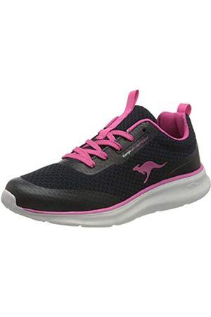 KangaROOS KJ-Dyna, Zapatillas Mujer, Dark Navy Fandango Pink 4294-Vibrador, Color