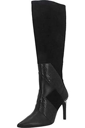 Geox D Faviola C, Botas Altas Mujer, (Black C9999)