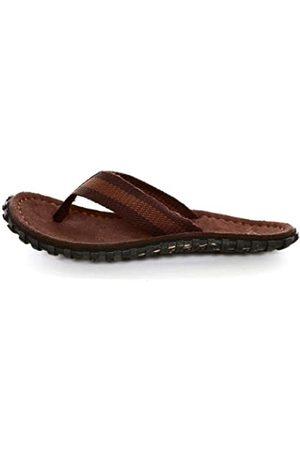 Vans U Cush - Sandalias de Lona para Hombre Mehrfarbig (Tan/Dark Brown FSS) 40.5