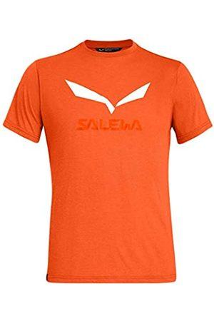 Salewa Camiseta Modelo SOLIDLOGO Dry M S/S tee. Marca