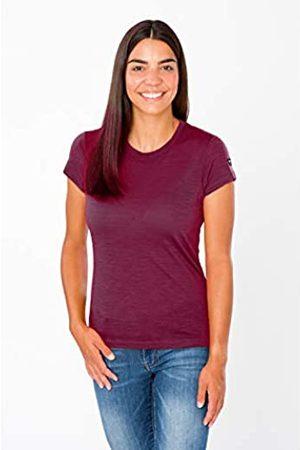 Supernatural Super.natural Camiseta de manga larga para mujer, Con lana merina, W RISING SUN LS, Talla: XS