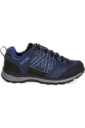 Regatta Lady Samaris II Low, Walking Shoe Mujer, Navy/Clematis Blue