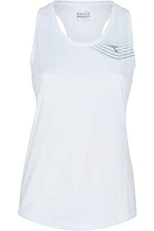 Diadora Camiseta de Tirantes Court para Mujer, Gris Claro